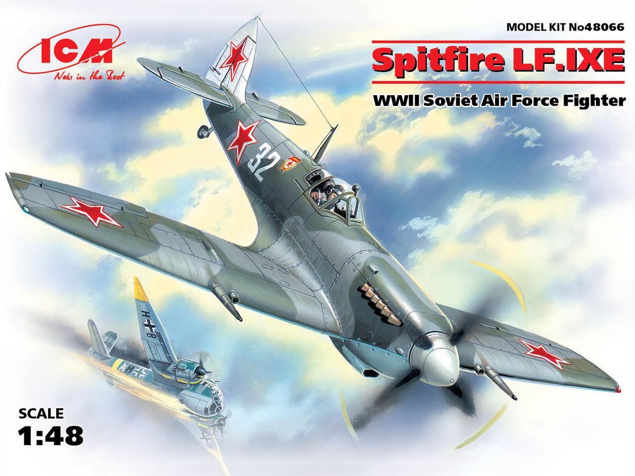 Истребитель Spitfire LF. IX ВВС СССР. 1/48 ICM 48066