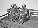 Советские военнослужащие 1979-1991 гг. Набор для сборки фигур в масштабе 1/35 ICM. 35636, фото 3