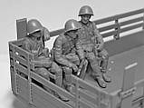 Советские военнослужащие 1979-1991 гг. Набор для сборки фигур в масштабе 1/35 ICM. 35636, фото 6