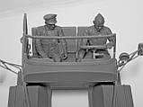 Советские военнослужащие 1979-1991 гг. Набор для сборки фигур в масштабе 1/35 ICM. 35636, фото 7