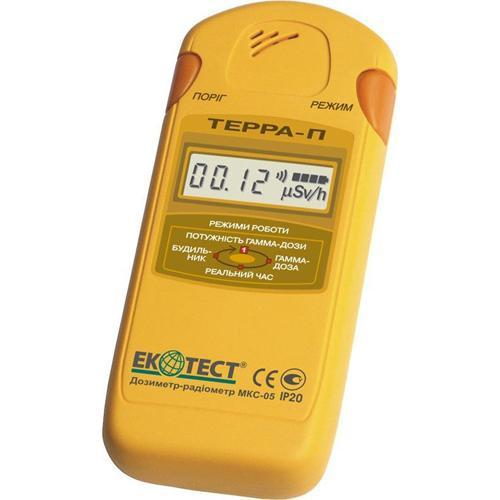 Дозиметр-радиометр бытовой Ecotest МКС-05 ТЕРРА-П (ЕСОTEST)