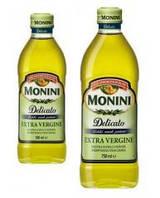 Оливкова Олія Масло оливковое Monini Delicato Extra Virgin 750 мл