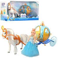 Карета 258A , Карета для детей,Набор литл пони,Карета с лошадью,Лошадка