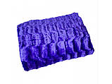 Плед покрывало Норка меховое Капучино Евро размер, фото 3