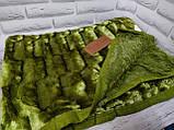 Плед покрывало Норка меховое Капучино Евро размер, фото 6
