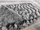 Плед покрывало Норка меховое Капучино Евро размер, фото 7