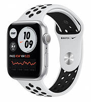 Apple Watch Series 6 Nike 40mm GPS Silver Aluminum Case with Pure Platinum/Black Nike Sport Band (M00T3)