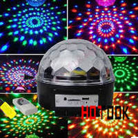 Диско шар светомузыка MP3 LED Magic Ball Light