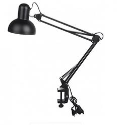 Светильник настольный на струбцине Feron DE1430 Вlack