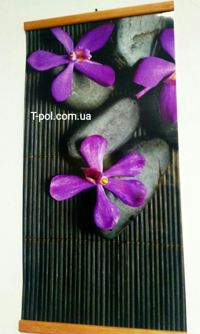 Карбоновый настенный обогреватель Каменный цветок
