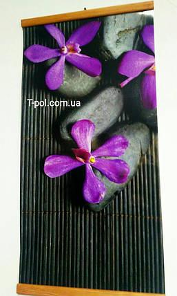 Карбоновый настенный обогреватель Каменный цветок, фото 2