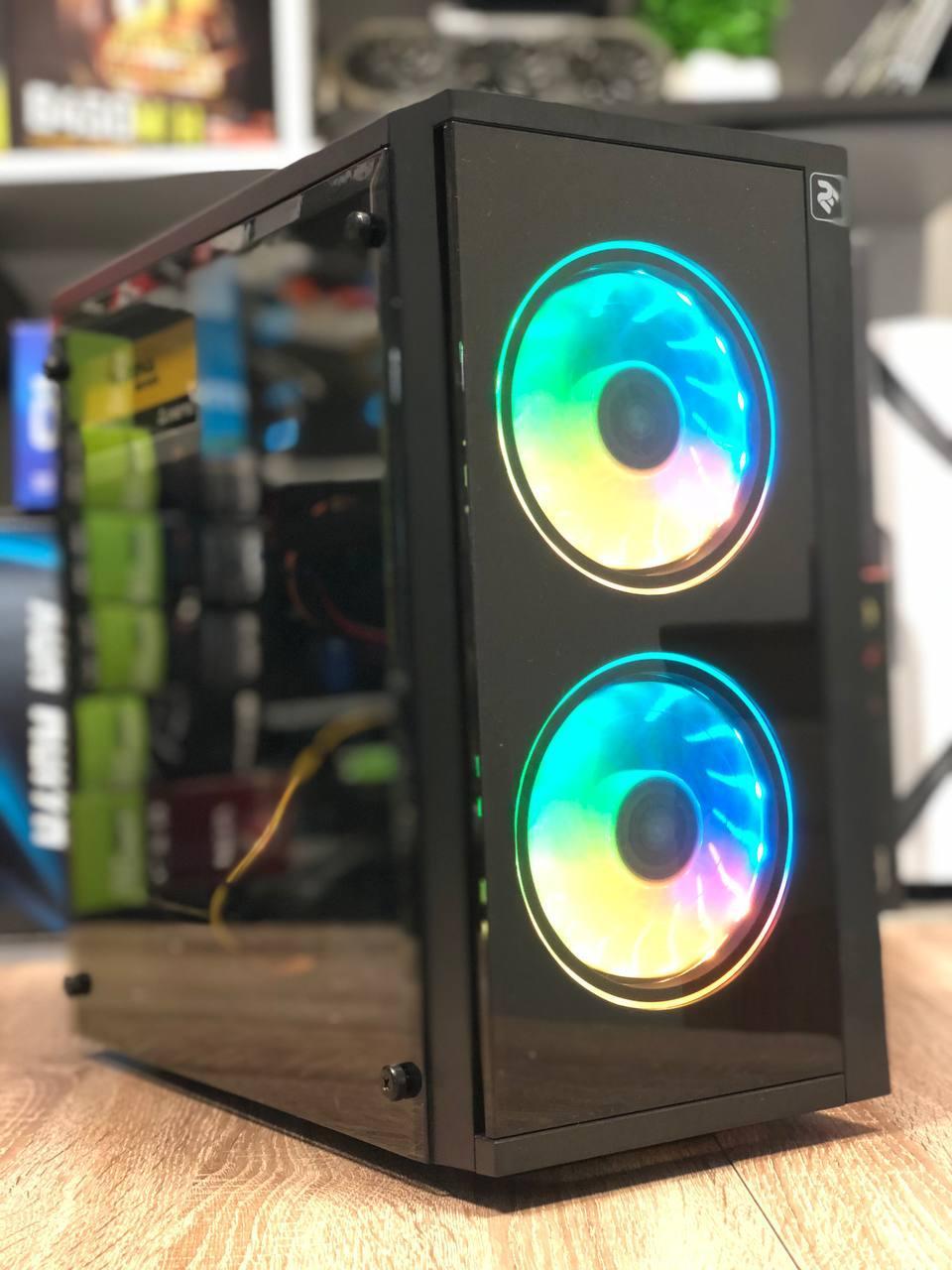Игровой компьютер Basis  Intel Core i3-10100f RAM 16GB SSD 120GB +HDD 1TB PCI GTX 1060 3GB