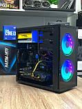 Игровой компьютер Basis  Intel Core i3-10100f RAM 16GB SSD 120GB +HDD 1TB PCI GTX 1060 3GB, фото 8