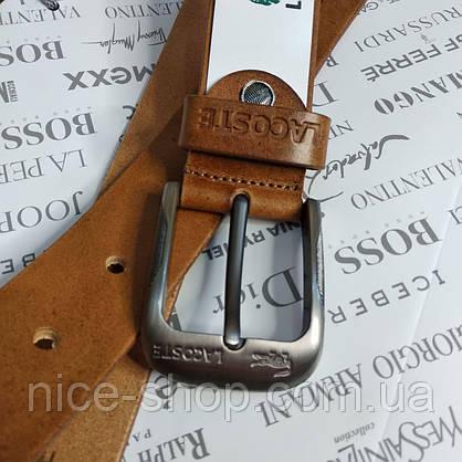 Ремень кожаный Lacoste, фото 3