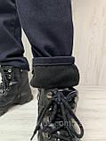 Штани коттон на флісі для хлопчиків 170,176,182 см, фото 2