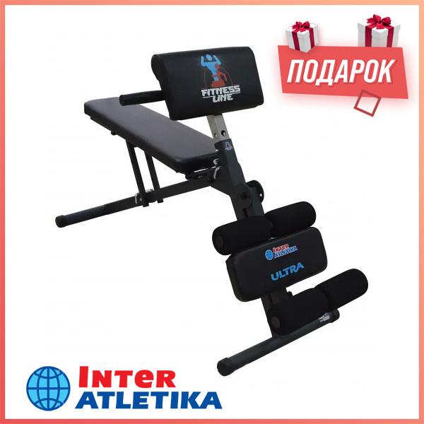 Скамья универсальная INTER ATLETIKA ULTRA SТ009