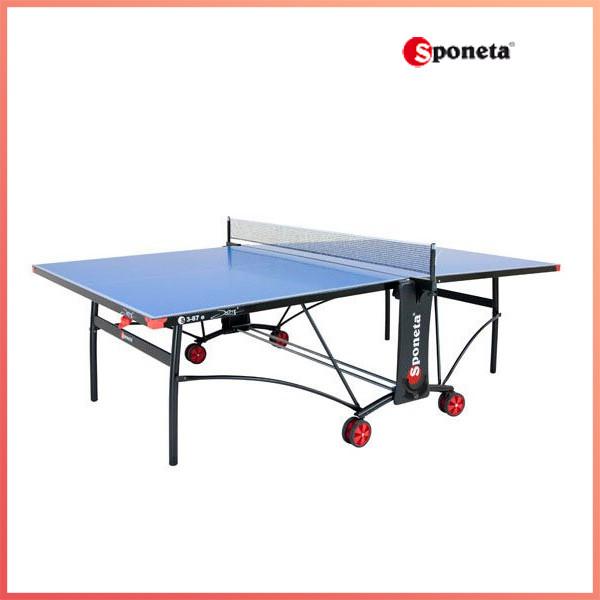 Стол теннисный Sponeta S3-87е white/black