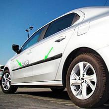 Молдинги на двери для Citroen C-Elysee 2012-2020