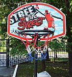 Стойка баскетбольная детская 2,25м SBA S881R, фото 9