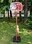 Стойка баскетбольная мобильная 2,60м SBA PE003, фото 7