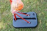 Стойка баскетбольная мобильная 2,60м SBA PE003, фото 8