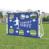 Ворота футбольные 2 в 1 Outdoor-Play JC-7180T, фото 2