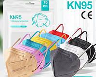 Защитные маски KN95 FFP2 и FFP3 пятислойные респираторы