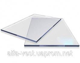 Резаный монолитный поликарбонат Carboglass 1.5мм куски 1023*3050мм Прозрачный