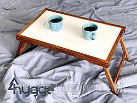Деревянный столик для завтрака в постель Hygge™ Vanlig, золотой дуб