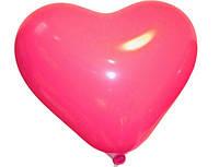 """Воздушный шар Сердце  10"""" красное пастель"""