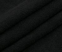 Махровое полотно хлопок двухстороннее чёрное