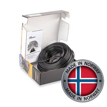 Секции одножильного нагревательного кабеля для систем снеготаяния Nexans (Норвегия) TXLP/1 (Black)