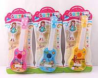 Гитара детская акустическая 890 B-16 (60/2) 3 вида, на листе