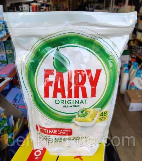 Капсулы для посудомоечных машын FAIRY Original all in one 48 шт