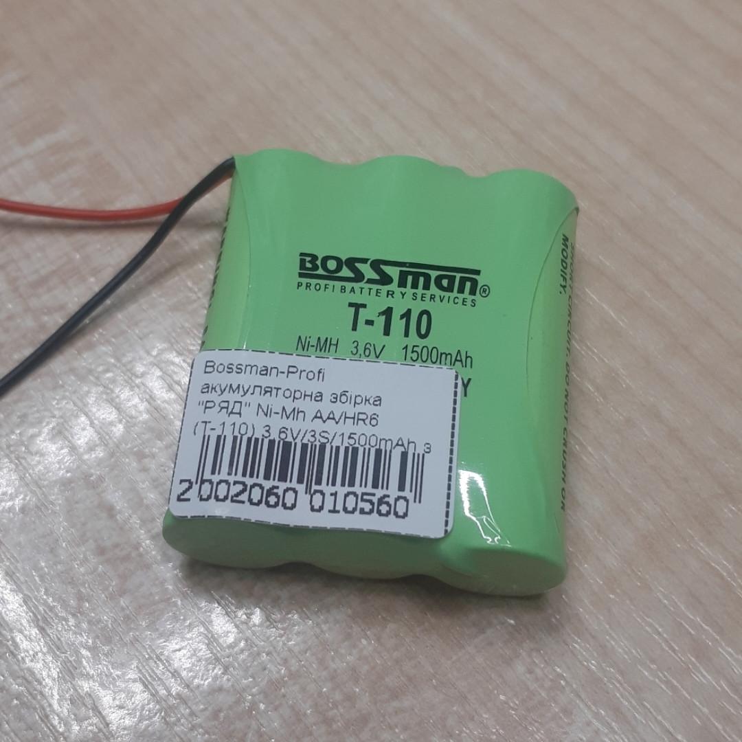 Аккумуляторная сборка Bossman-Profi T-110 3,6V 1500mAh (Ni-Mh)