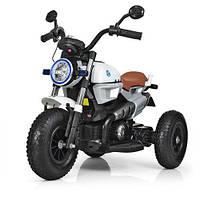 Мотоцикл двомоторний M 3687AL-1 білий, фото 1