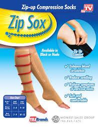 Компрессионные носочки Zip Sox