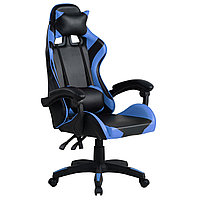 Кресло компьютерное игровое или для офиса Gamer Pro Jaguar Синее