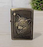 Бензиновая зажигалка Волк, фото 1