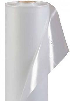 Плёнка белая полиэтиленовая прозрачная тепличная 6 м * 50 м 100 мкм