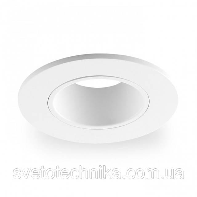 Светильник MR16 (цвет корпуса белый) встраиваемый поворотный