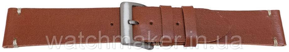 Коричневый ремешок для часов винтажного стиля   20 мм