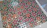 Керамическая плитка Декор мозаичный Танец цветов DT26, фото 7