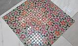 Керамическая плитка Декор мозаичный Танец цветов DT26, фото 8