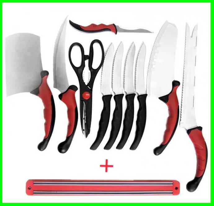 Набор Кухонных Ножей из 11 Предметов, фото 2
