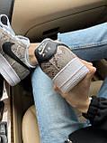 Стильні кросівки Nike Air Force 1 Low Snakeskin, фото 3