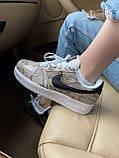 Стильні кросівки Nike Air Force 1 Low Snakeskin, фото 2