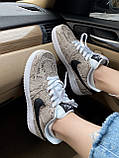 Стильные кроссовки Nike Air Force 1 Low Snakeskin, фото 9