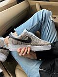 Стильні кросівки Nike Air Force 1 Low Snakeskin, фото 6
