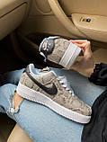 Стильные кроссовки Nike Air Force 1 Low Snakeskin, фото 7